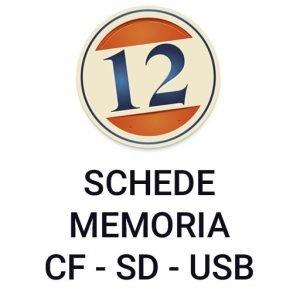 Schede di Memoria CF/SD/USB