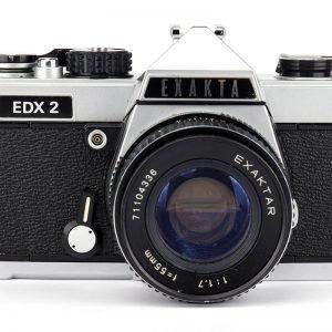 Exakta EDX 2 – Exaktar 55mm F. 1.7 – CD