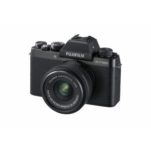 Fujifilm X-T100 Black con 15/45 – Garanzia Fujifilm Italia