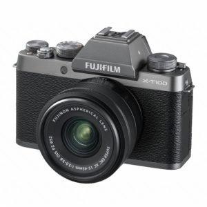 Fujifilm X-T100 Silver con 15/45 – Garanzia Fujifilm Italia