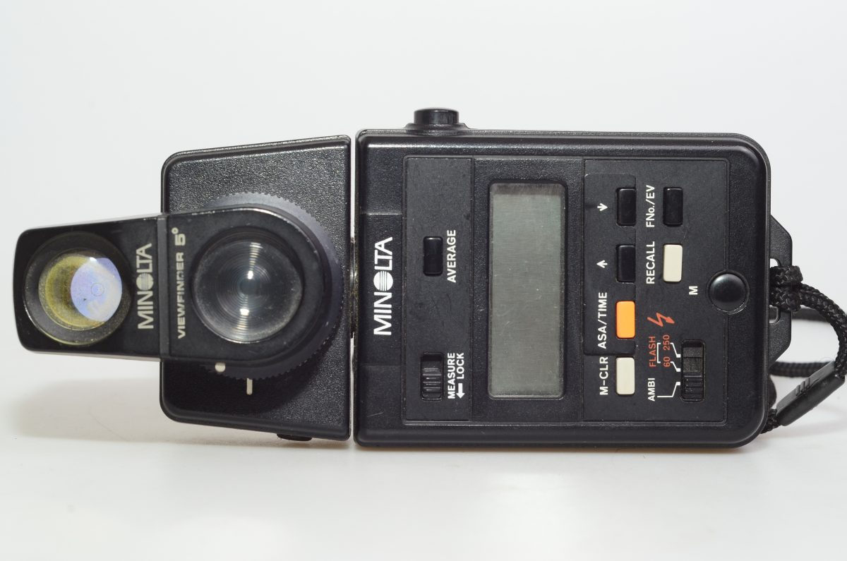 Minolta Autometer Iii  U2013 Fotododici Com