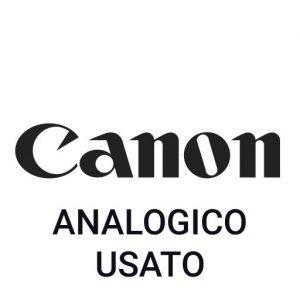 Canon Analogico Usato