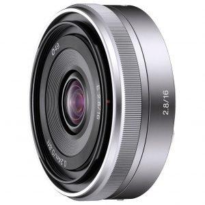 Sony E 16mm f/2.8 – Garanzia 2 anni Sony Italia