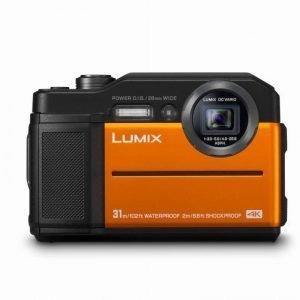 Panasonic Lumix DC-FT7 Orange Garanzia 4 anni Fowa Italia