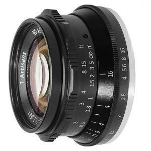 7artisans 35mm f/1.2  APS-C