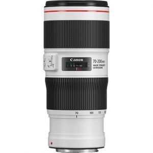 Canon EF 70-200mm F/4L IS II USM – Garanzia Canon italia
