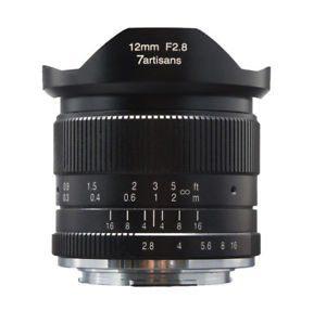 7artisans 12mm f/2.8  APS-C