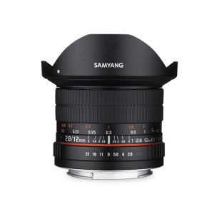 Samyang 12mm f/2.8 ED AS NCS Fisheye Garanzia Fowa
