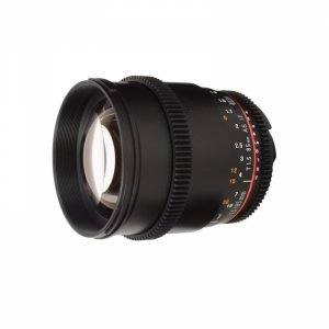 Samyang 85mm T.1.5 AS IF UMC VDSLR – Garanzia Fowa Cine Lens
