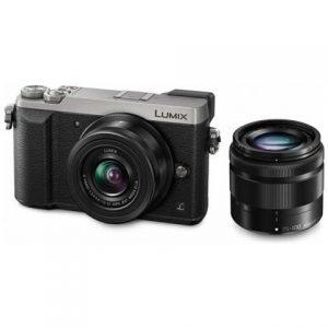 Panasonic Lumix GX80 Silver 12/32 F 3.5-5.6 II OIS + 35/100 mm Garanzia 4 anni Fowa Italia