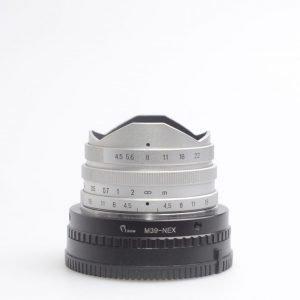 Voigtlander (E, VM) Super Wide Heliar 15mm f/4.5 con anello x Sony