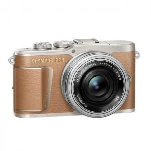 Olympus PEN E-PL9 Marrone