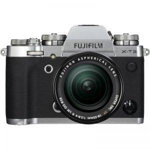 Fujifilm X-T3 Silver con XF 18/55 – Garanzia Fujifilm Italia