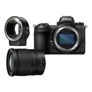 Nikon Z6 + Nikkor Z 24-70mm f/4 S + Anello adattatore FTZ  Garanzia Nital