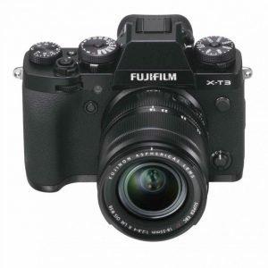 Fujifilm X-T3 Black con XF 18/55 – Garanzia Fujifilm Italia