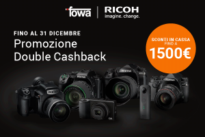 Pentax Double Instant Cashback all'acquisto