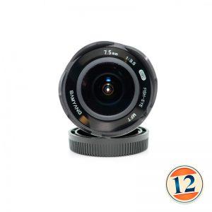 Samyang 7.5mm f/3.5 UMC Fisheye MFT x Canon