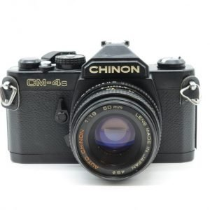 CHINON CM-4s con 50 mm F1.9