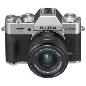 Fujifilm X-T20 Silver con 15/45 F 3.5-5.6 – Garanzia Fujifilm Italia