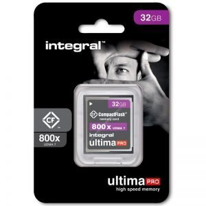 Integral UltimaPro Compact Flash 32/64GB