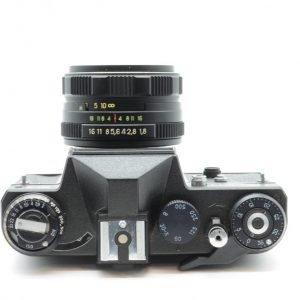 Zenit ET + 50 mm e Borsa