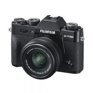 Fujifilm X-T30 Black o Silver con 15/45 – Garanzia Fujifilm Italia