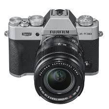 Fujifilm X-T30 Black o Silver con 18/55 – Garanzia Fujifilm Italia
