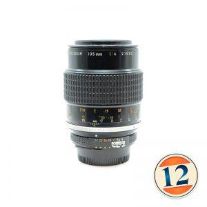 Nikon 105mm f/4 Micro AiS
