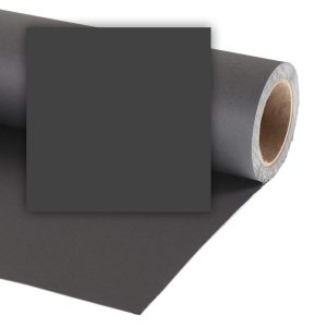 Colorama fondale di carta Black 2,72x11m