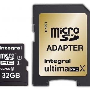 Integral Ultimapro x 32 GB Micro SDHC 10 Gb classe ultra-high-speed