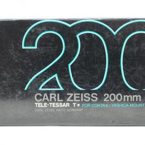 Zeiss Tele-Tessar 200mm f/3.5 x Yashica