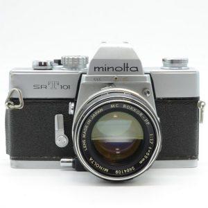 Minolta SR-T 101 con 55 f 1.7