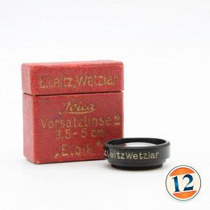 Leica Filtro x Elmar 50 mm f 3.5 M