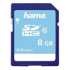 HamaSDXC 8GB Class 10 UHS-I 22MB/s