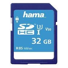 HamaSDXC 32GB Class 3 UHS-I 85MB/s