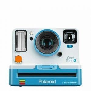 Polaroid OneStep2 Bianca e Azzurra con Viewfinder
