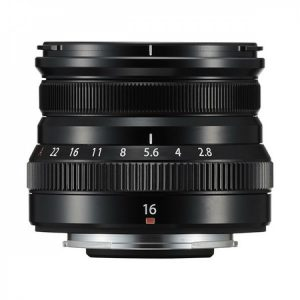 Fujinon XF 16mm F2.8 R WR Nero – Garanzia Fujifilm Italia