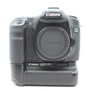 Canon 40D  con BG-E2