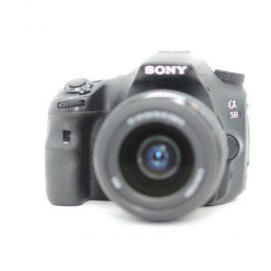 Sony Alpha 58, Obiettivo 18-55mm