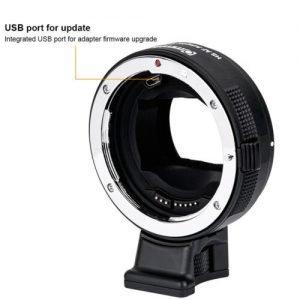 Anelli adattatori autofocus Sony A7RII,A7R,A6300,A7,Nex Serie