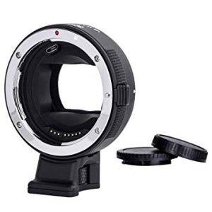 Anelli adattatori autofocus Canon EF/ Sony E-Mount