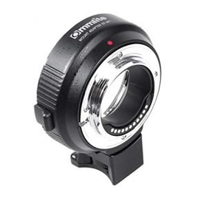 Anelli adattatori autofocus Canon EF, EF-S/ Olympus E Panasonic