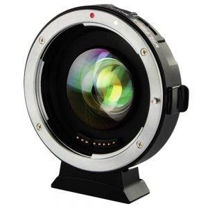 Anelli adattatori autofocus Canon EF/ Olympus&Panasonic BOOSTER