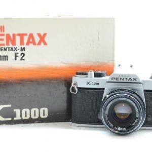 Pentax K1000 con 50 mm F 2