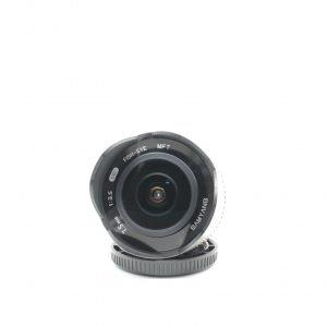 Samyang 7.5mm f/3.5 UMC Fisheye MFT