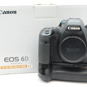 Canon 6D con Impugnatura