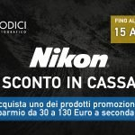 "Nikon Summer Promotion ""Instant Saving"" Sconto in cassa"