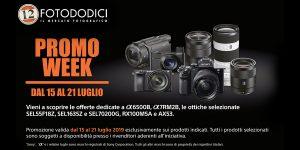 Sony Promo Week dal 15/07/19 al 24/07/19 !