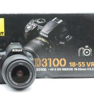 Nikon D3100 con 18/55
