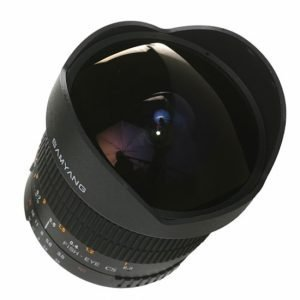 Samyang 8mm f/3.5 UMC CS II Fish Eye – Garanzia Fowa Italia 4anni